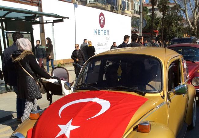The Istanbul VW Beetle