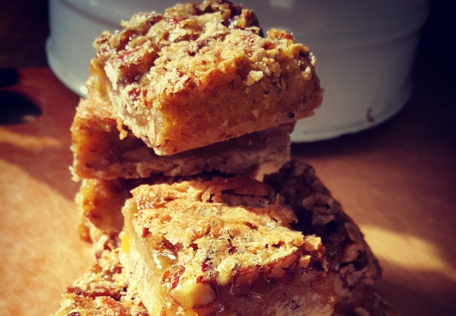 Way Easy Pecan Pie Bars